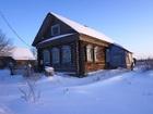 Скачать бесплатно фото Загородные дома Крепкий бревенчатый дом в тихой деревне, недалеко от Волги, 260 км от МКАД 38958952 в Москве