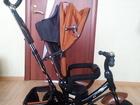 Уникальное фотографию Детские коляски Прогулочная коляска - трехколесный велосипед трансформер 78099265 в Moscow