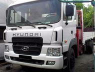 Huyndai HD170 Кран-манипулятор (7, 1т) О машине: бережная эксплуатация, один соб