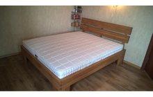 Продам 2х спальную кровать из дуба