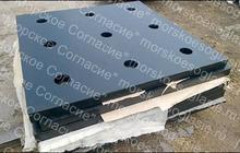Покрытие для вертолётных площадок из резино-стальных плит