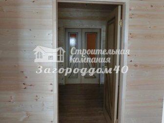 Уникальное фото Загородные дома Коттедж Варшавское шоссе, Калужское направление 65км 21622118 в Москве
