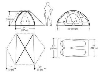 Увидеть фотографию Товары для туризма и отдыха Палатка Marmot Tungsten 2P (зеленая) 33743430 в Москве