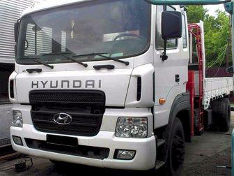 Свежее foto Грузовые автомобили Huyndai HD170 Кран-манипулятор (7, 1т) 37539573 в Москве