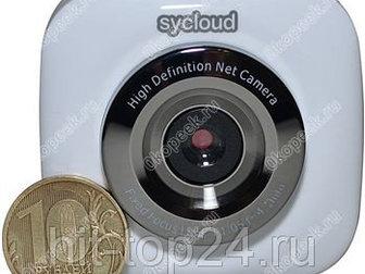 Уникальное фото Видеокамеры Мини камера Микро IP-WIFI камера SyCloud 38941340 в Москве