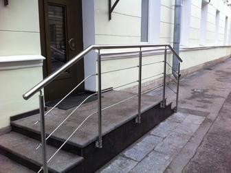 Скачать бесплатно фото  Ограждения из нержавеющей стали, Перила 69357176 в Moscow