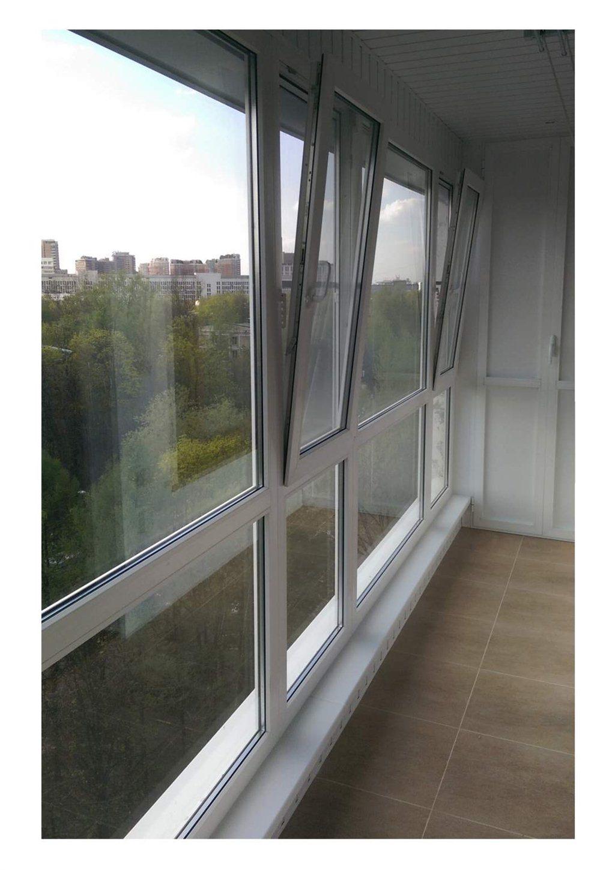 Москва - остекление утепление отделка балконов и лоджий.