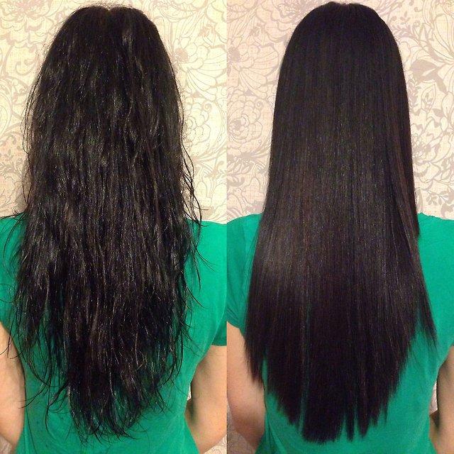 Кератиновое выпрямление волос недорого москва