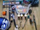 Фотография в Хобби и увлечения Рыбалка Ледобур тонар 130. набор жерлиц 10шт. 4зимние в Москве 6000
