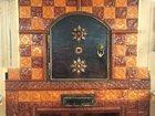 Изображение в Строительство и ремонт Дизайн интерьера Печь облицована изразцовой рельефной плиткой в Москве 86000