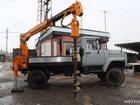 Скачать фотографию Буровая установка Ямобур ГАЗ 33081 (садко), БКМ-302, Isuzu, Урал 32650341 в Москве