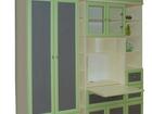 Фотография в Мебель и интерьер Мебель для детей Стенка новая, 8 предметов.   Размеры: В 256 в Москве 80000