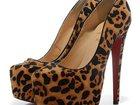 Изображение в Одежда и обувь, аксессуары Женская обувь Потрясающие леопардовые туфли на платформе в Москве 6900