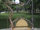 Уникальное фотографию  Креативная скамья Влюбленные фонари 33168807 в Краснодаре