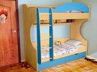 Свежее фото Детская мебель Детская кровать 2-х местная Облачко 4 34014746 в Москве