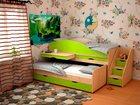 Скачать бесплатно фото  Детская кровать Караван 5-1, 34116134 в Барнауле