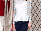 Фотография в Одежда и обувь, аксессуары Женская одежда Очаровательная женственная блузка из плотного в Москве 2600