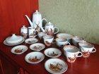 Смотреть фотографию Антиквариат сервиз охота гдр фарфор 30 предметов 1950-е годы 34798172 в Москве