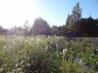 Скачать бесплатно foto  Участок 12 соток, Видно озеро, со старым домиком, 35100689 в Выборге