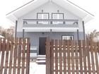 Изображение в Недвижимость Продажа домов Новый дом (коттедж) из бруса в охраняемом в Москве 3800000