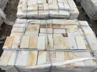 Смотреть фото Отделочные материалы Пиленый камень бело-жёлтый натуральный природный 37788962 в Москве