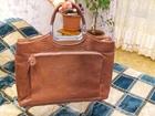 Фотография в Одежда и обувь, аксессуары Разное Продается итальянская женская сумка, коричневого в Москве 2000