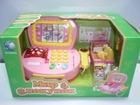 Уникальное фото Детские игрушки Касса со сканером, продуктами, деньгами 38587819 в Москве