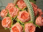 Уникальное фотографию  Корзинки с розами 38963472 в Перми