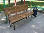 Скачать фотографию Мебель для дачи и сада Скамейки садовые деревянные 39417731 в Кемерово
