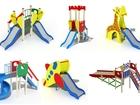 Скачать бесплатно фото Разное Детские горки игровые на площадку 39495530 в Новосибирске