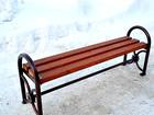Смотреть фото Мебель для дачи и сада Антивандальные скамейки без спинки 39580142 в Новосибирске
