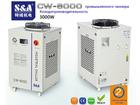 Смотреть фотографию Разное Оптоволоконный лазерный резак охлаждается однонасосным и двухтемпературным чиллером CW-6000 39635149 в Москве