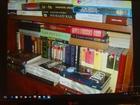 Скачать фото  Продам домашнюю библиотекуПродам домашнюю библиотеку-1 тысяча книг, Художественные, в хорошем состоянии, в твердом переплете, Самовывоз, Москва, м, Волжская 39981498 в Москве
