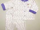 Увидеть фото Детская одежда Пижамы девочкам 0-12 мес котики мишки слоненок жираф цветочки улитки 40640820 в Москве