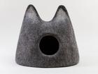 Смотреть foto  Домик для кошек из 100% шерсти в наличии 51543832 в Москве