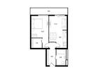 Продается 2-ком апартамент площадью 46.7 кв.м на 9 этаже 11