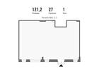 Продается нежилое помещение площадью 121,2 м2 на 1 этаже 3 э