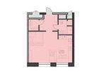 Продаются апартаменты площадью 53,1 кв.м на 7 этаже 18 этажн