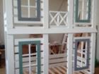 Смотреть изображение Мебель для детей Двухъярусная кровать домик 68308382 в Москве