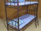 Увидеть фото  Металлические двухъярусные и одноярусные кровати 68490837 в Москве