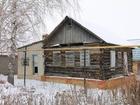 Свежее изображение  Недорогой рубленый дом с кирпичной пристройкой в г, Чаплыгин Липецкой области 69042901 в Чаплыгине