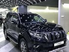 Toyota Land Cruiser Prado 2.8 AT, 2018, битый, 38 000 км