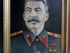 Скачать фотографию Коллекционирование Портрет И, В, Сталина, написан в 1976г, Холст, Масло 76474214 в Дмитрове