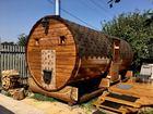 Скачать фото  Магматэк - бани бочки, готовые бани, садовые и дачные домики 76495611 в Москве