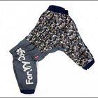 Комбинезон-дождевик ForMyDogs камуфляжный Gray для мальчика