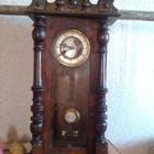 Часы с боем и маятником Эрхарда Роберта Шленкера немецкие старинные