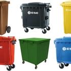 Передвижные мусорные контейнеры