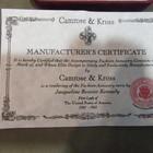 Camrose & Kross - JBK - Jackie Bouvier Kennedy Джеки Кеннеди крест