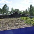 Сдается зем, участок 1276 м2, огороженный забором и частичным навесом