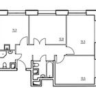 Продается 3-комн. кв-ра площадью 66,3 кв.м на 13 этаже 22 эт